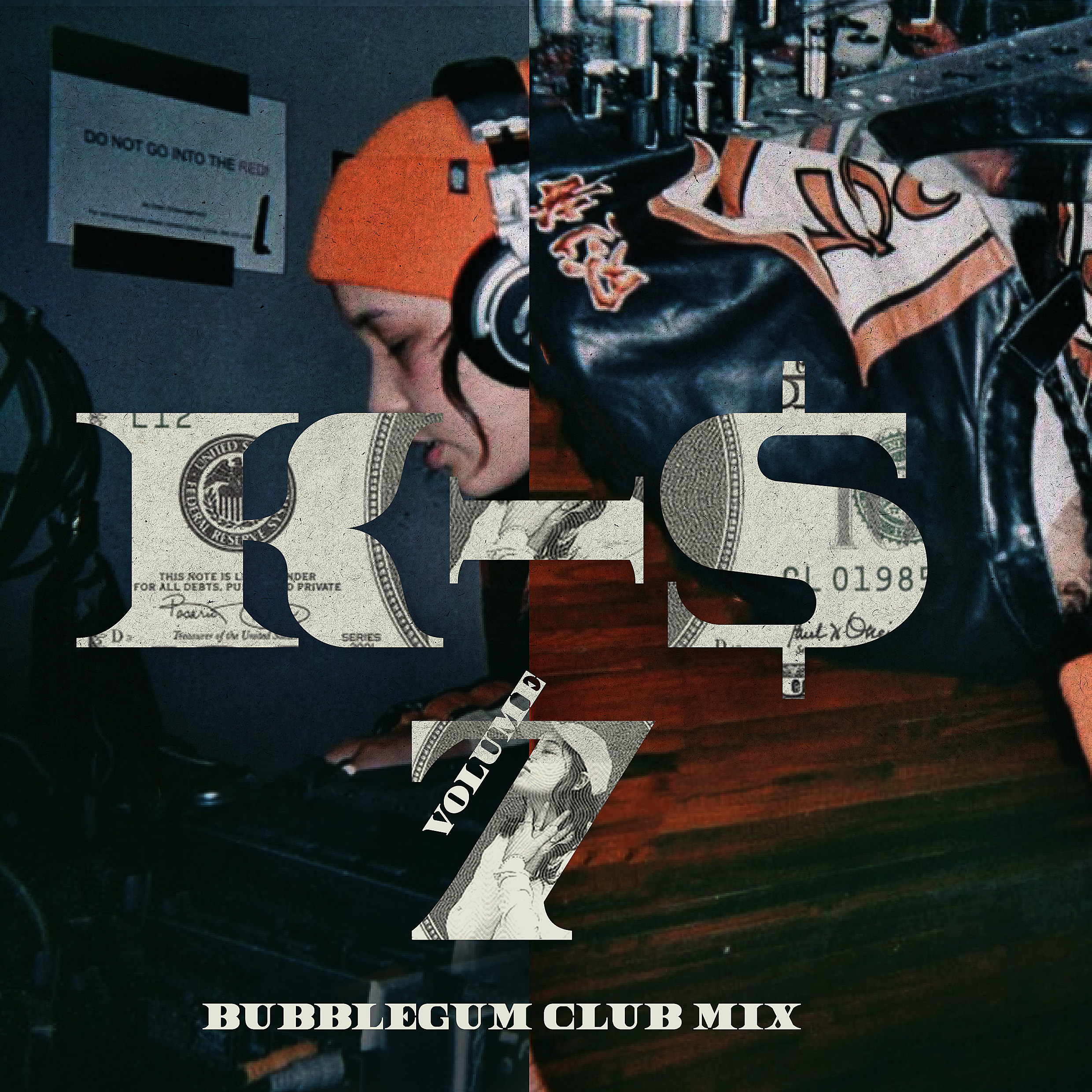Bubblegum Club mix Vol 7 by K-$ - Artwork by - Lex Trickett
