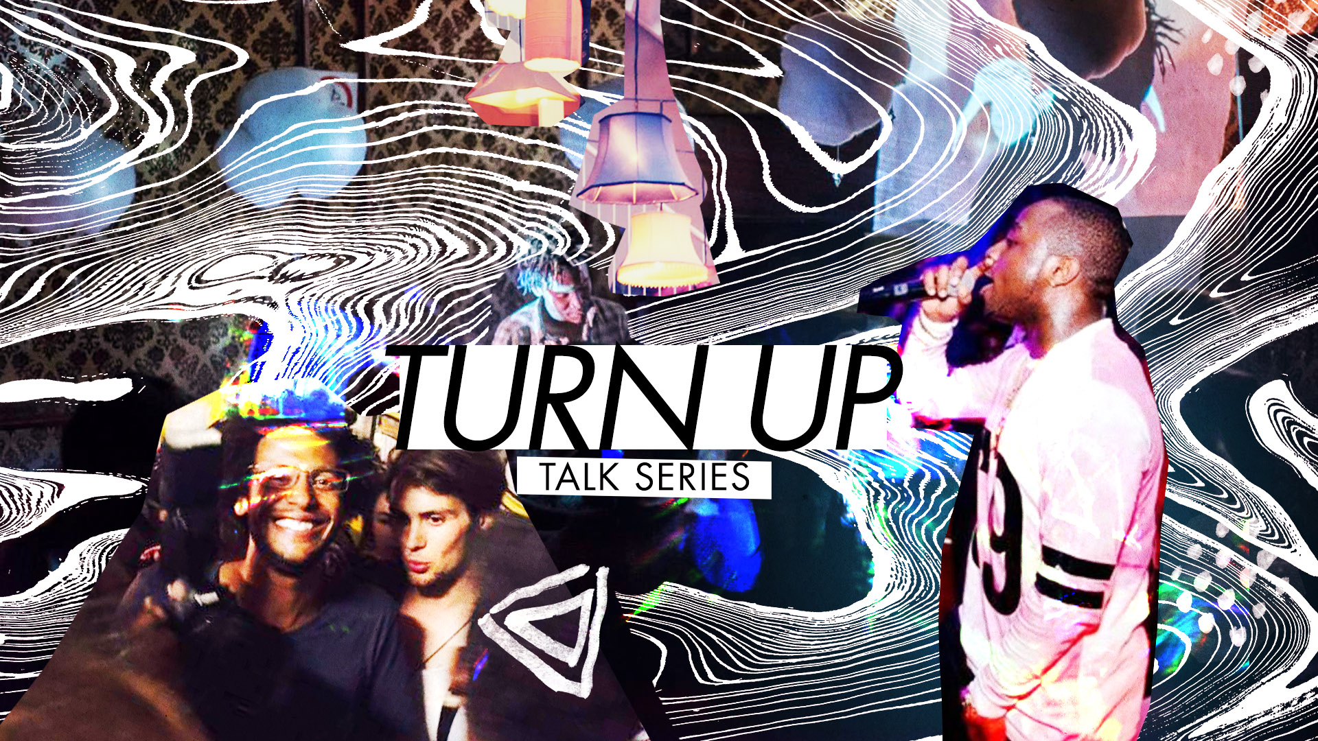 Turn-up Talk Series Episode 3 - Artwork by  - Lex Trickett