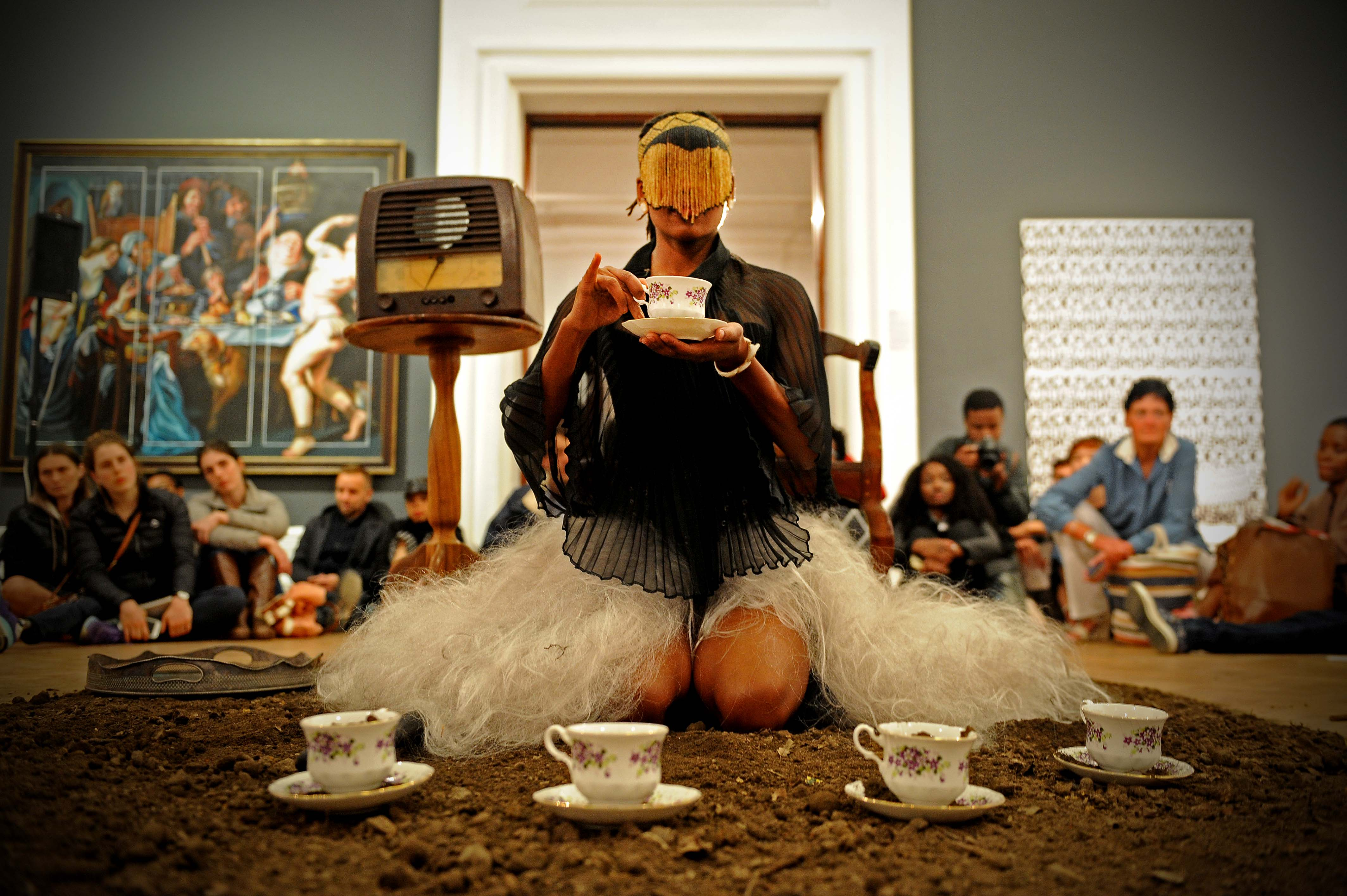 Claiming public space: Artist Sethembile Msezane on history and commemorative practices - Excerpts From -  the Past (2016)