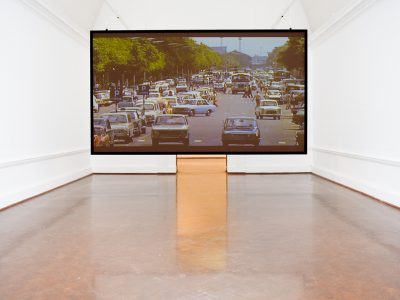 Ângela Ferreira, Adventures in Mozambique and the Portuguese Tendency To Forget, (2016), Installation view South Facing, Johannesburg Art Gallery, 2017