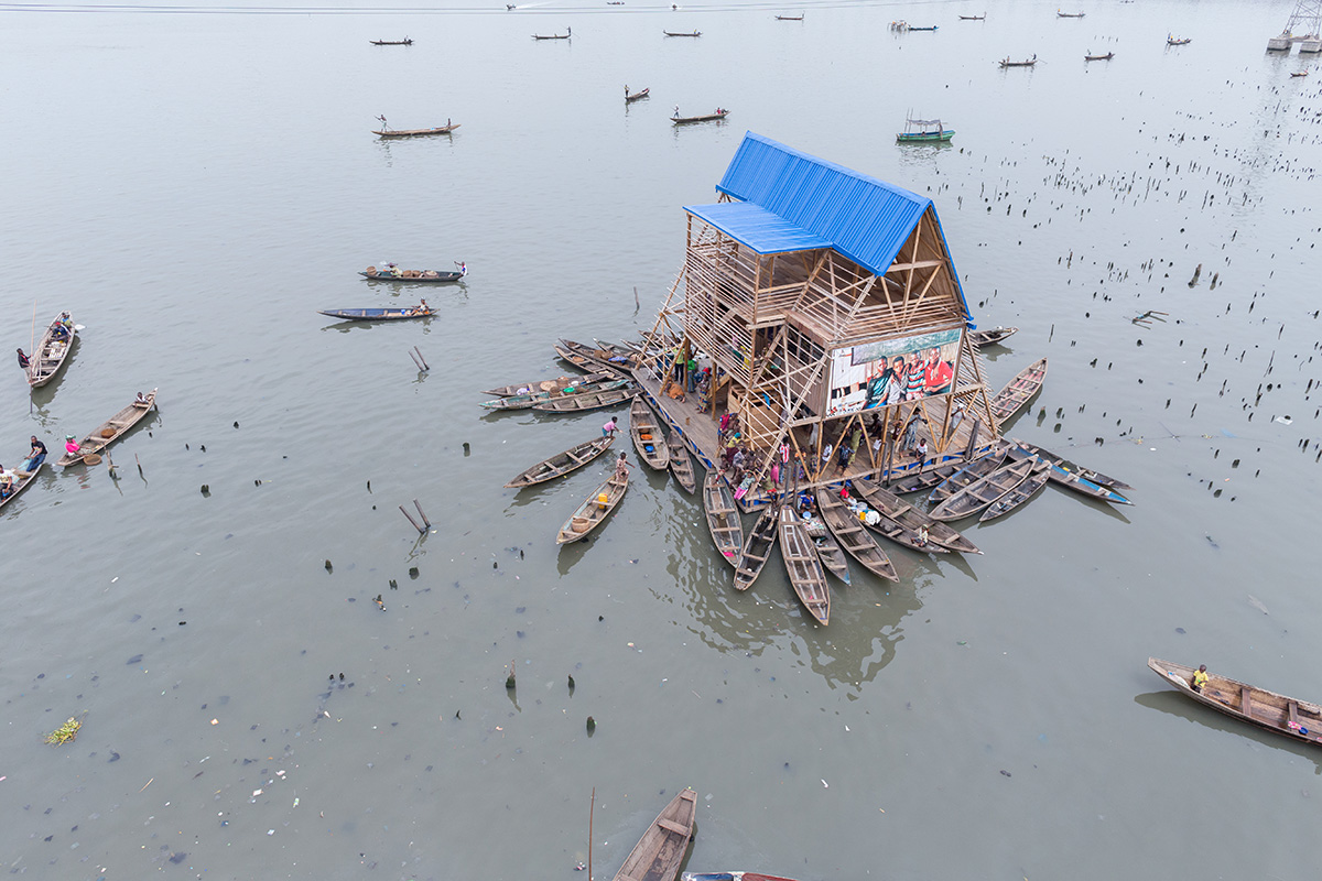Cities that float - Image of 'Makoko Floating School' by  - NLÉ