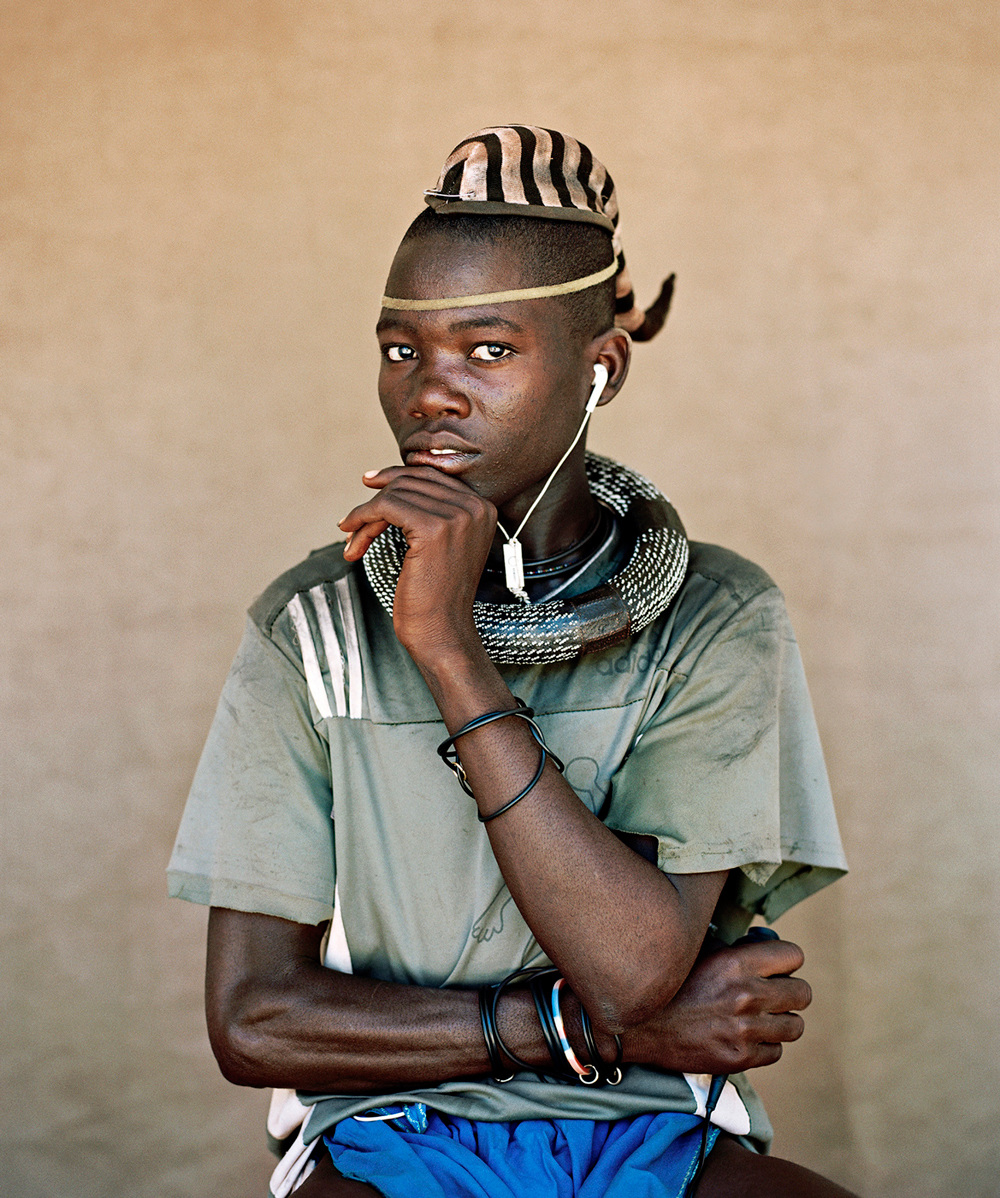 "The White Gaze and its Presence in a ""post"" apartheid culture - 'Ovahimba Youth Self-Portraits' by  - Kyle Weeks"