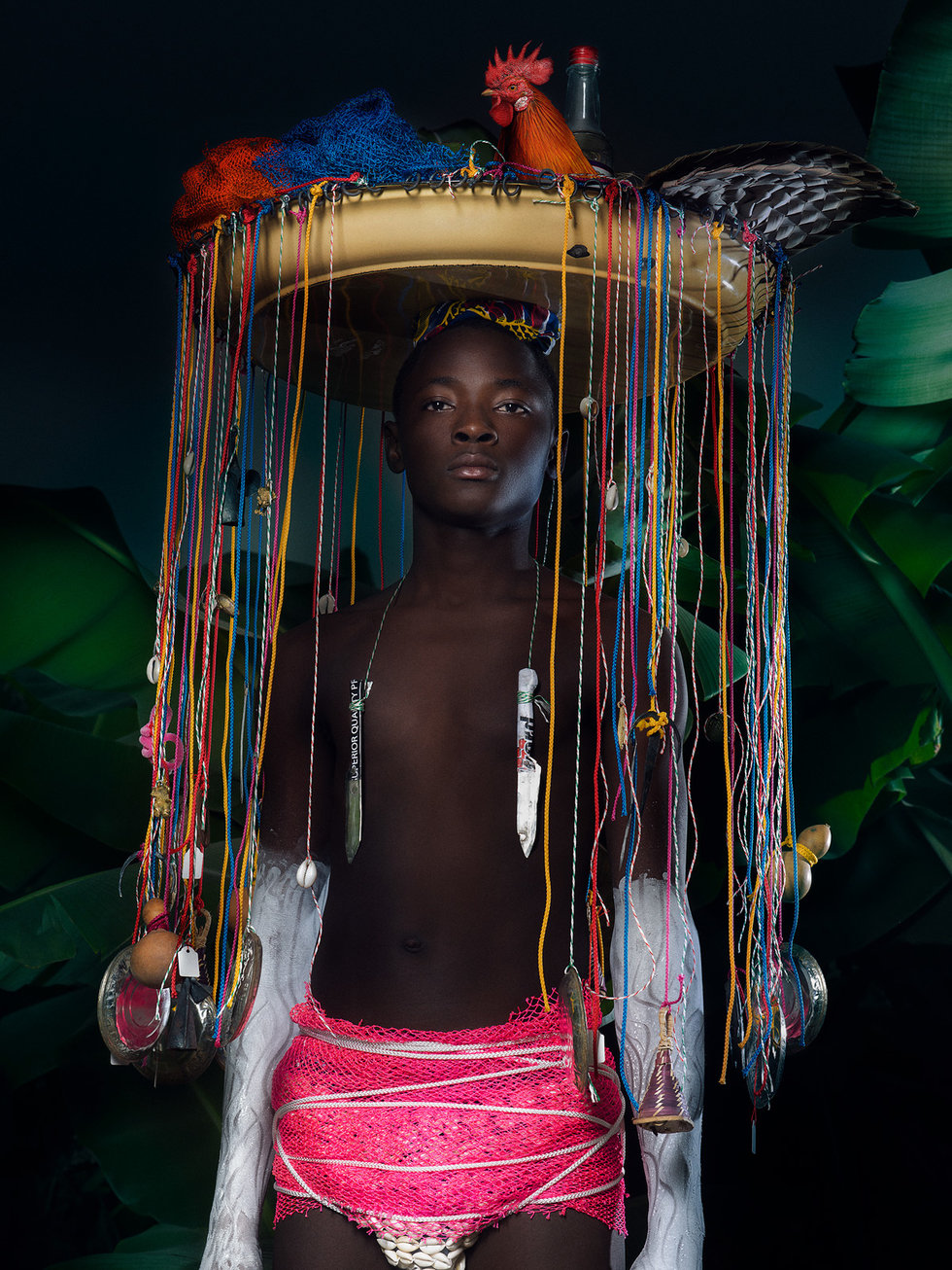 Guinean-Swiss art director and photographer Namsa Leuba – the visible and invisible universe - Images from  - Namsa Leuba website