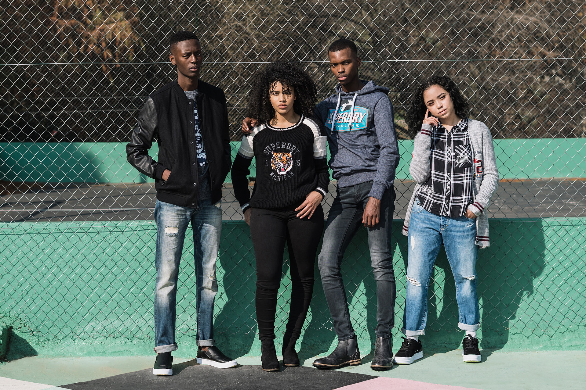 Kick it Behind the Bleachers with Superdry's Varsity Collection - Photography & Styling by  - Jamal Nxedlana