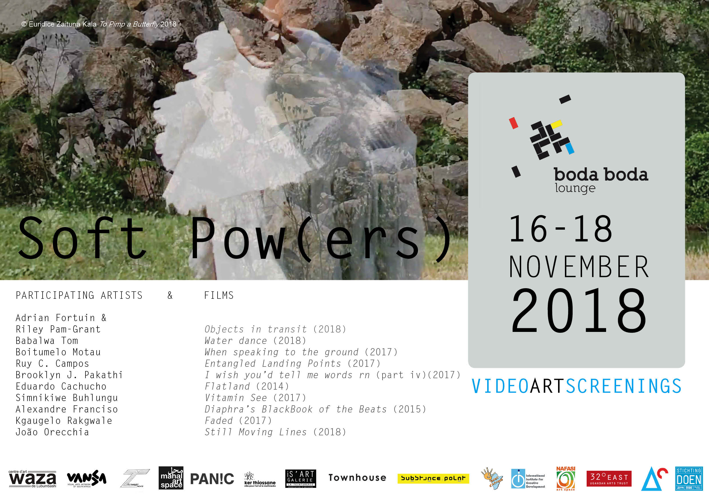 Boda Boda Lounge Project // Video art and Soft Pow(ers) -  -