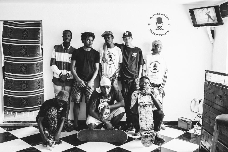 image, demeanour and 'argot' with West Africa's youth culture - Bubblegum  Club
